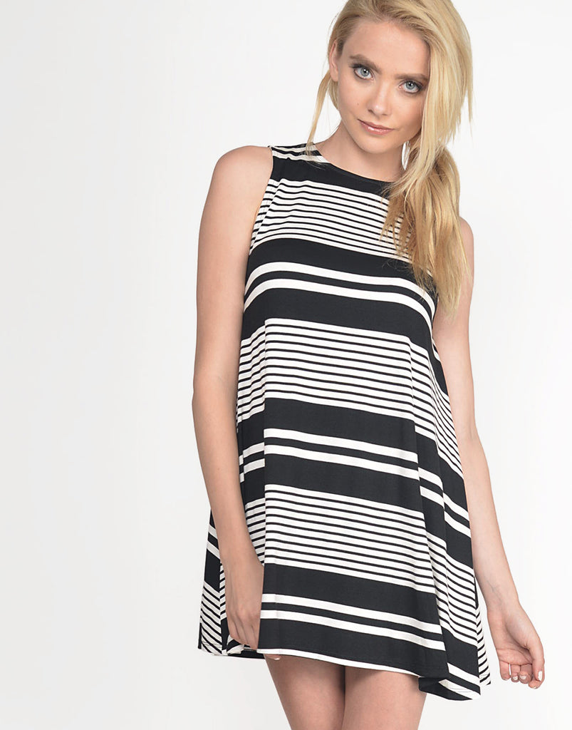 Striped Tank Dress - 2020AVE