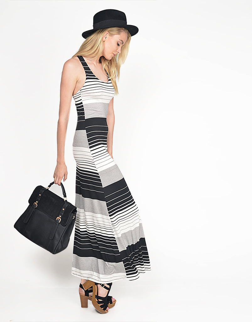 Striped Tank Maxi - 2020AVE