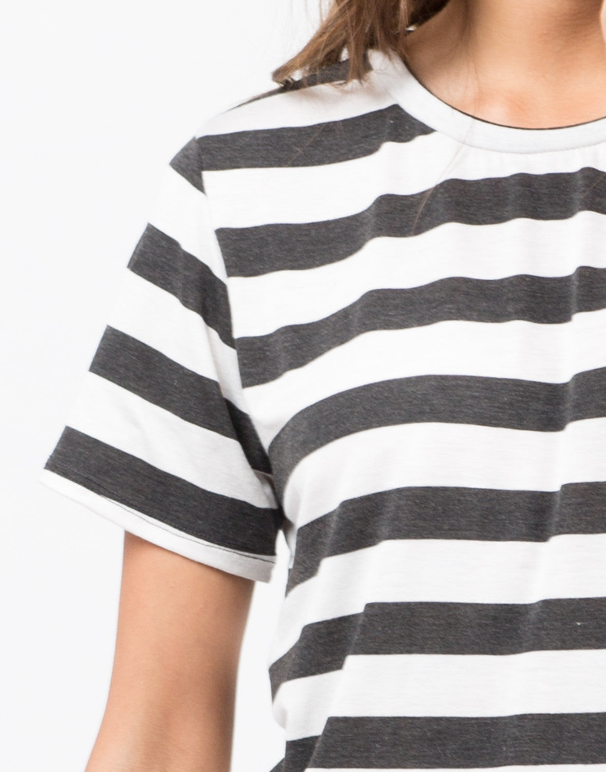 Detail of Striped Tunic Top