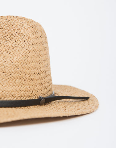 Structured Straw Hat