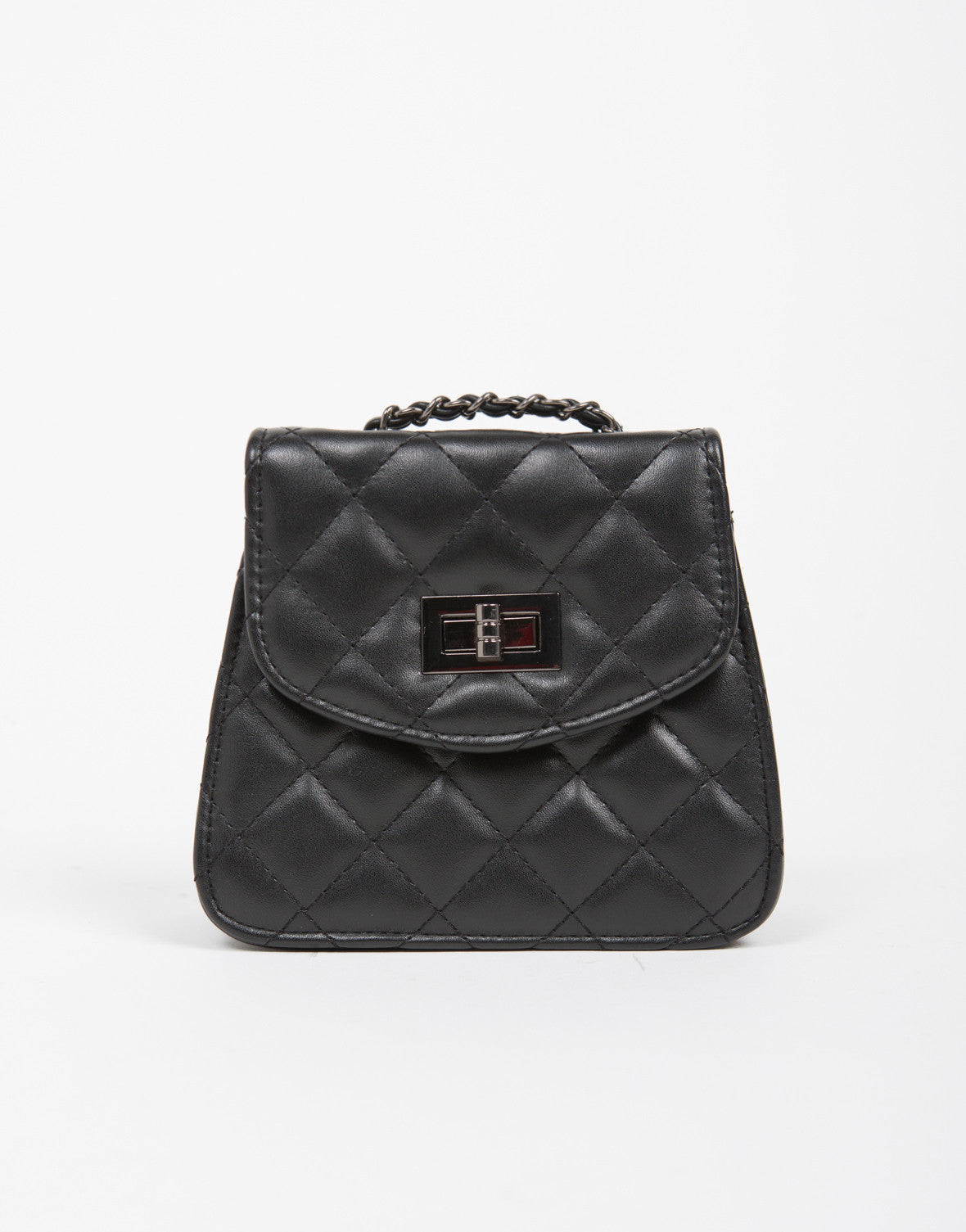 Structured Quilted Purse