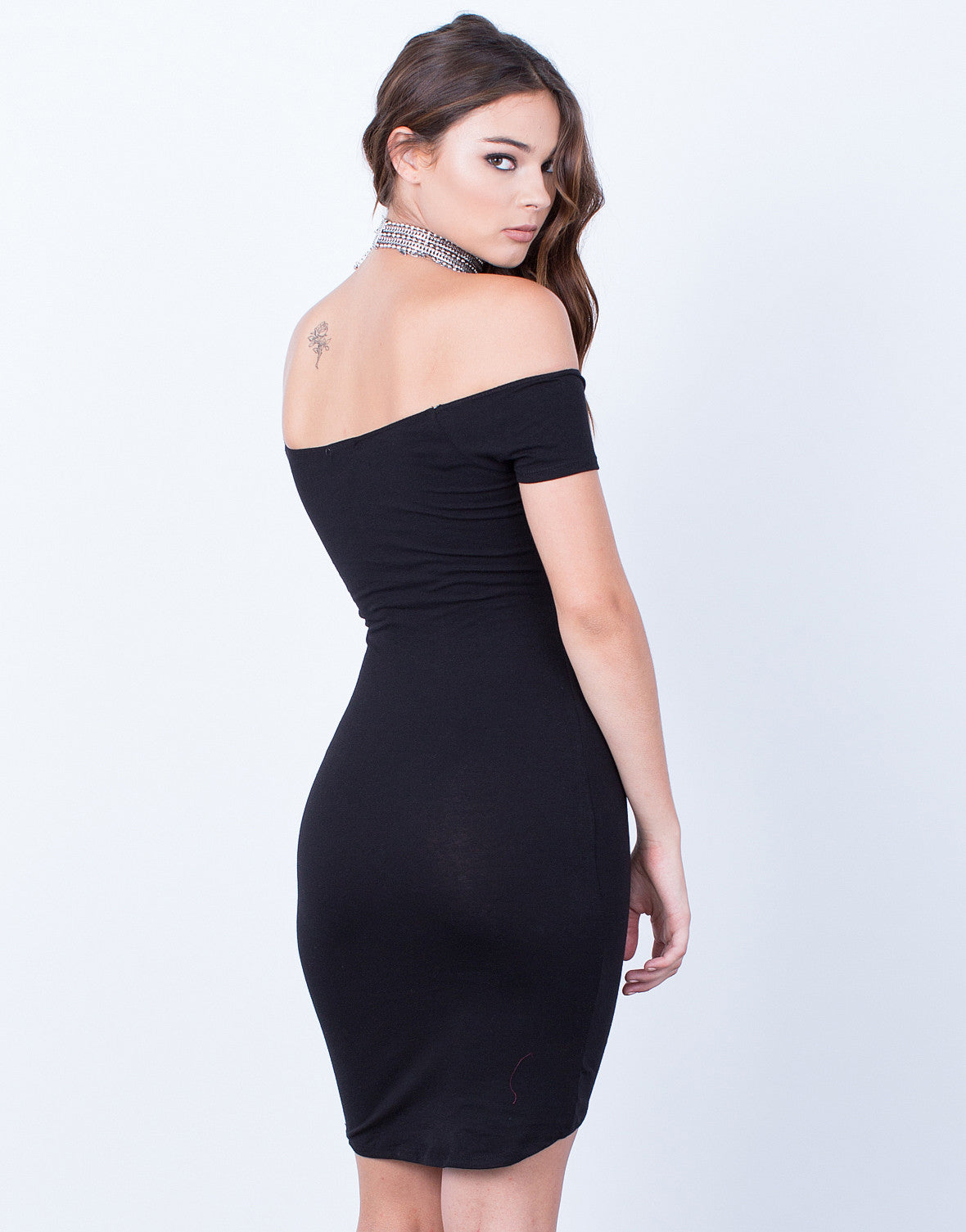 Back View of Strut Your Stuff Bodycon Dress