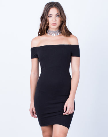 Front View of Strut Your Stuff Bodycon Dress