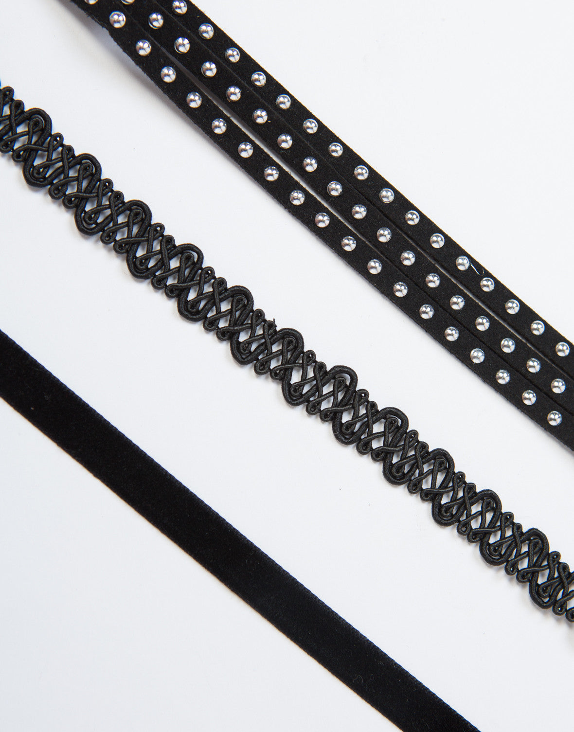 Studded 90s Choker Set