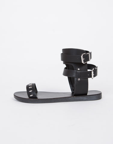 Studded Buckle Sandals - 2020AVE