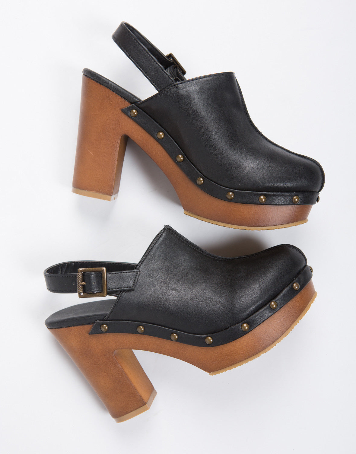 Studded Clog Mules yJ3q8tW