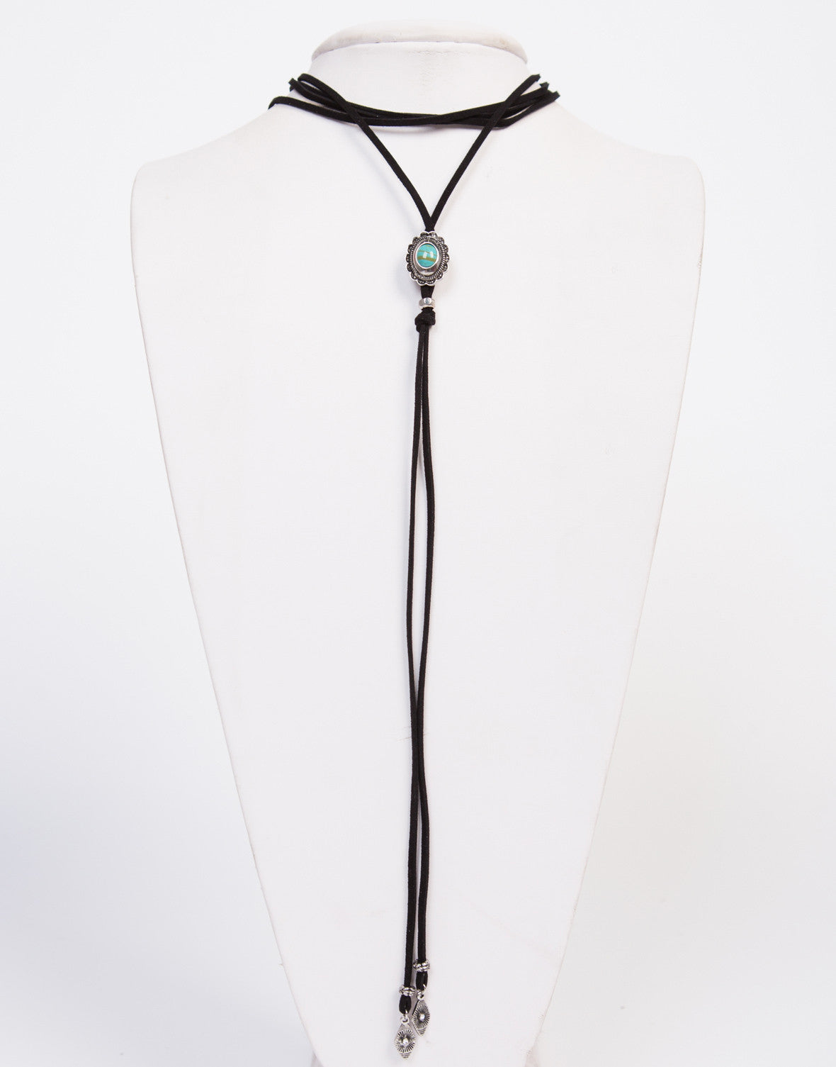Suede Stone Bolo Necklace - 2020AVE