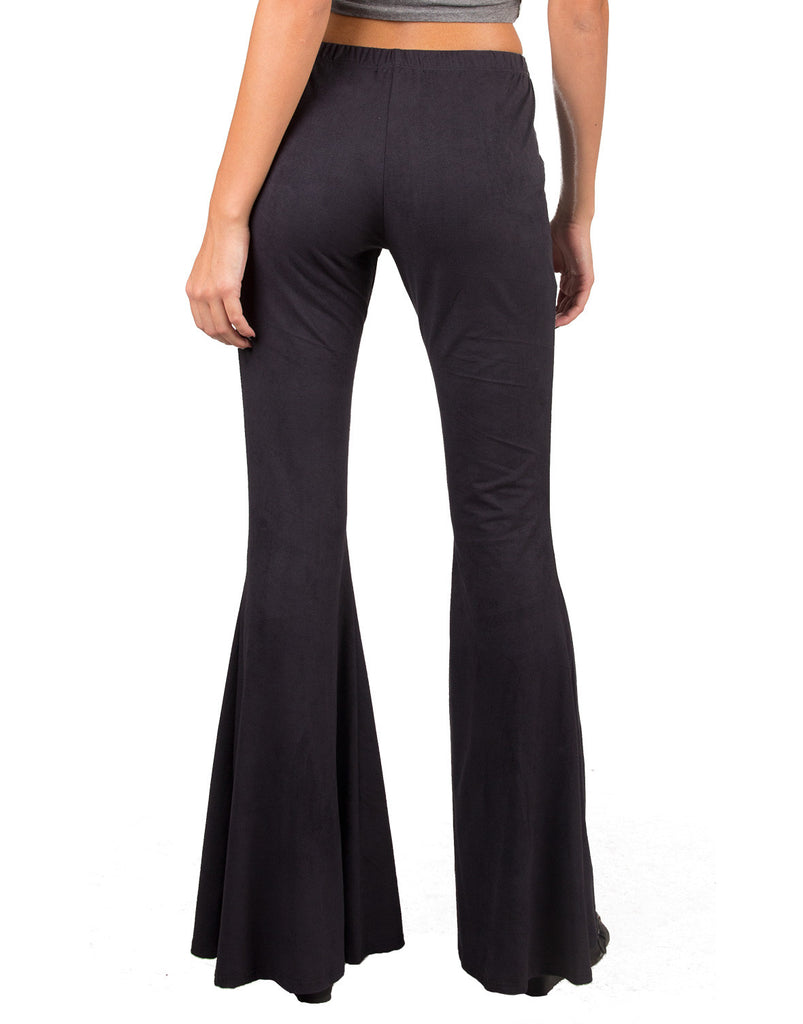 Suede Bell Bottom Pants - 2020AVE