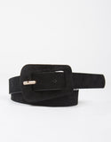 Suede Buckle Belt