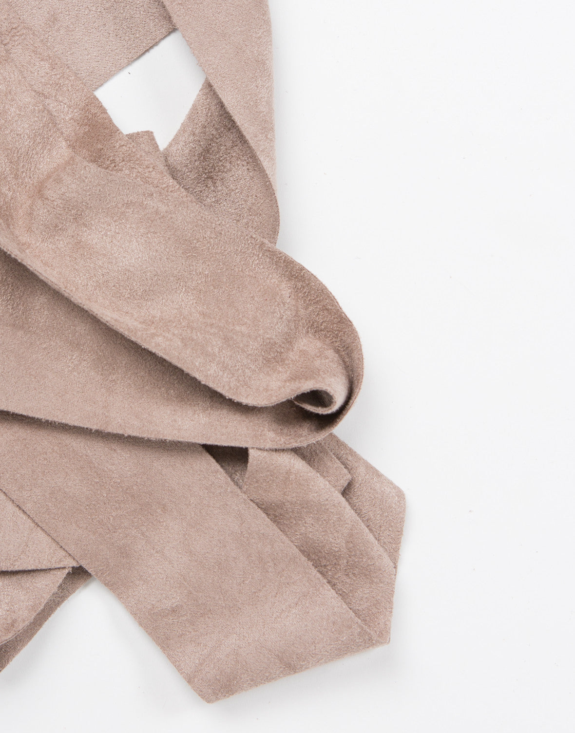 Suede Skinny Scarf - 2020AVE