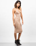 Suede Slip Dress - 2020AVE