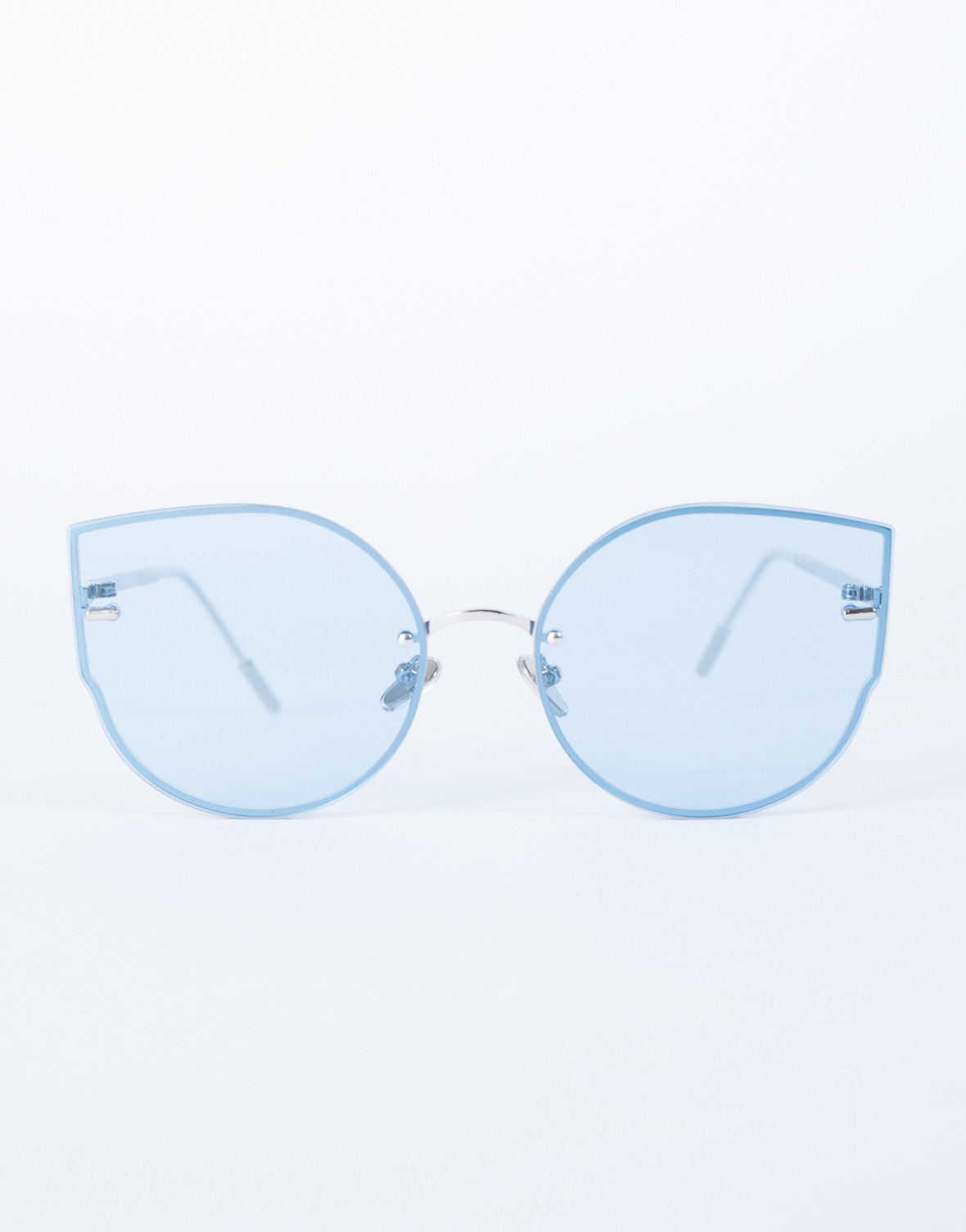 Blue Summer Fun Sunnies - Front View