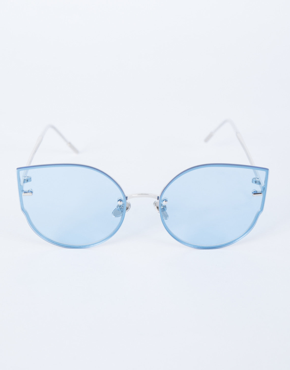 Blue Summer Fun Sunnies - Top View