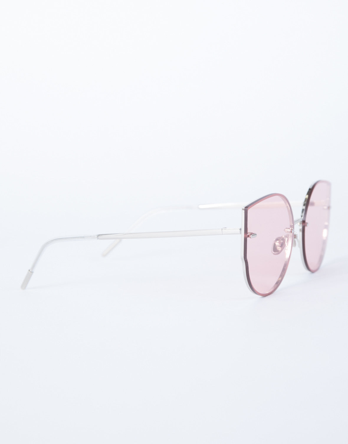 Pink Summer Fun Sunnies - Side View