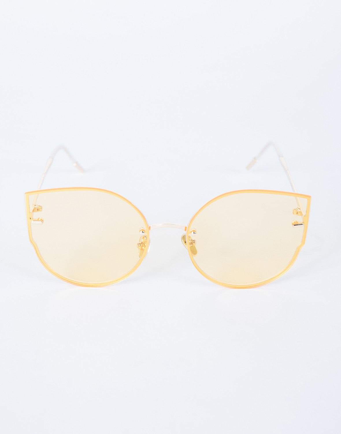 Orange Summer Livin' Sunnies - Top View