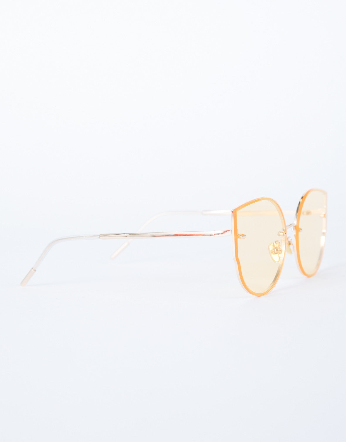 Orange Summer Livin' Sunnies - Side View