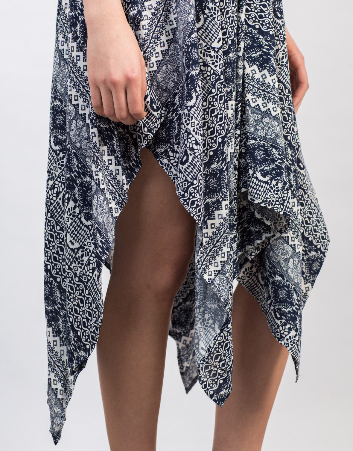 Detail of Super Flowy Printed Dress