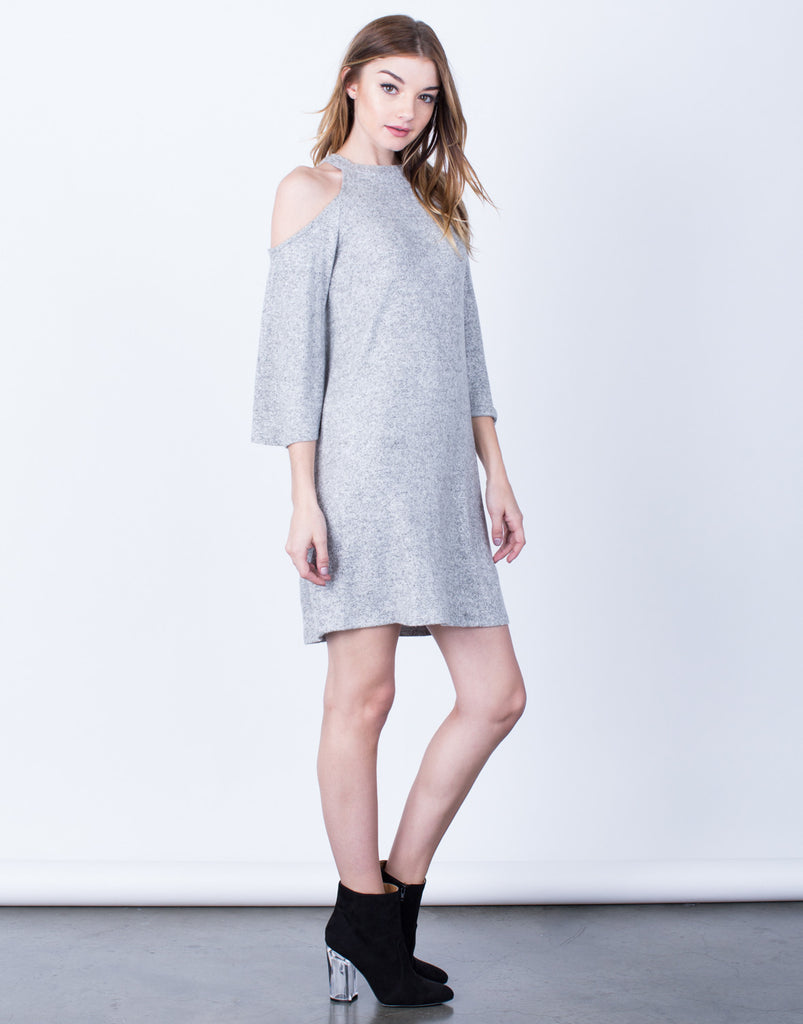 Super Soft Cold Shoulder Dress - 2020AVE