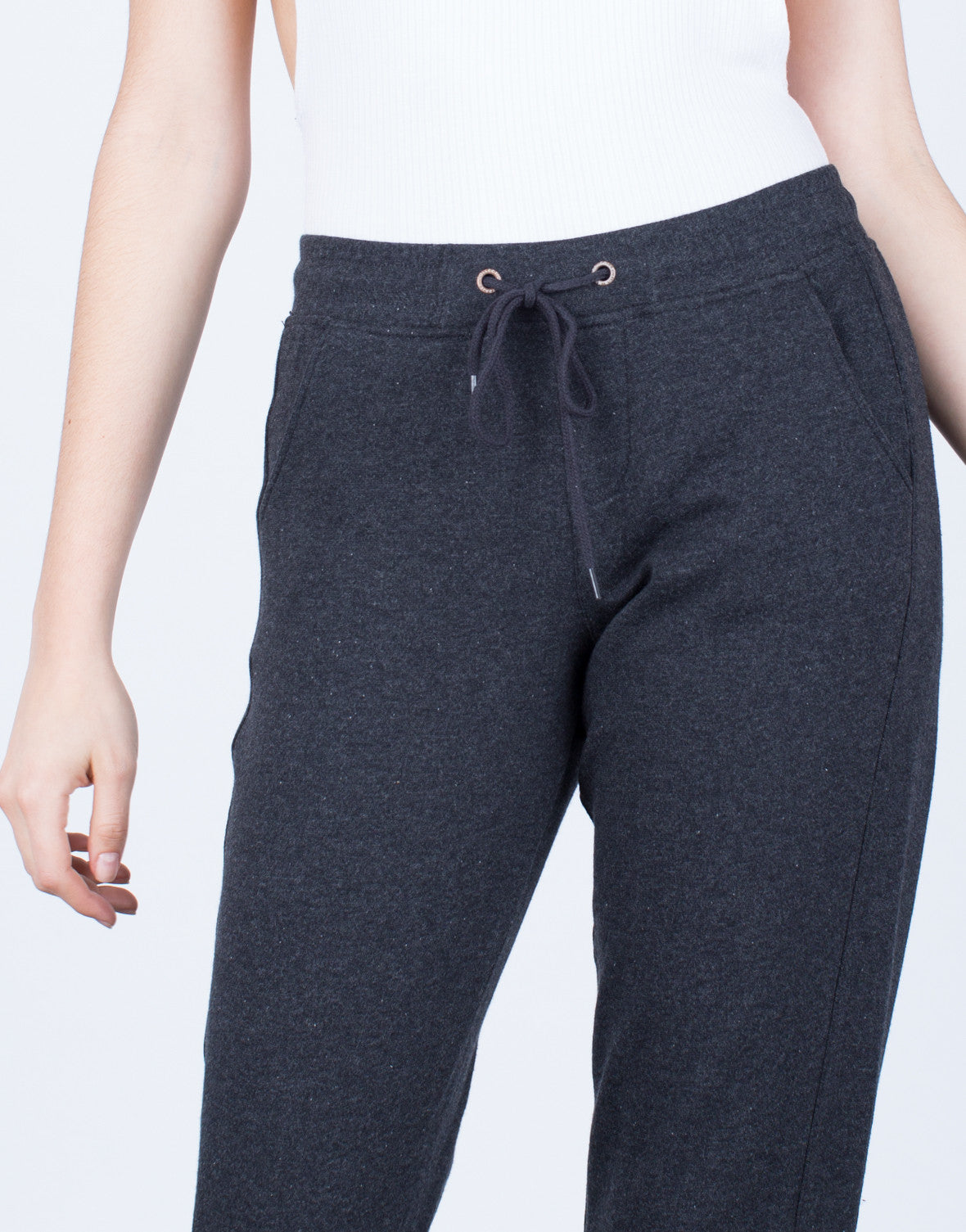 Detail of Super Soft Drawstring Joggers