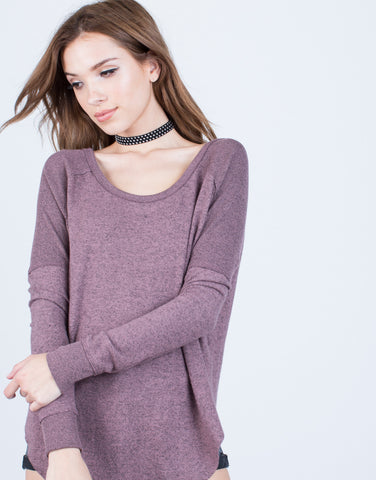 Super Soft Fuzzy Top