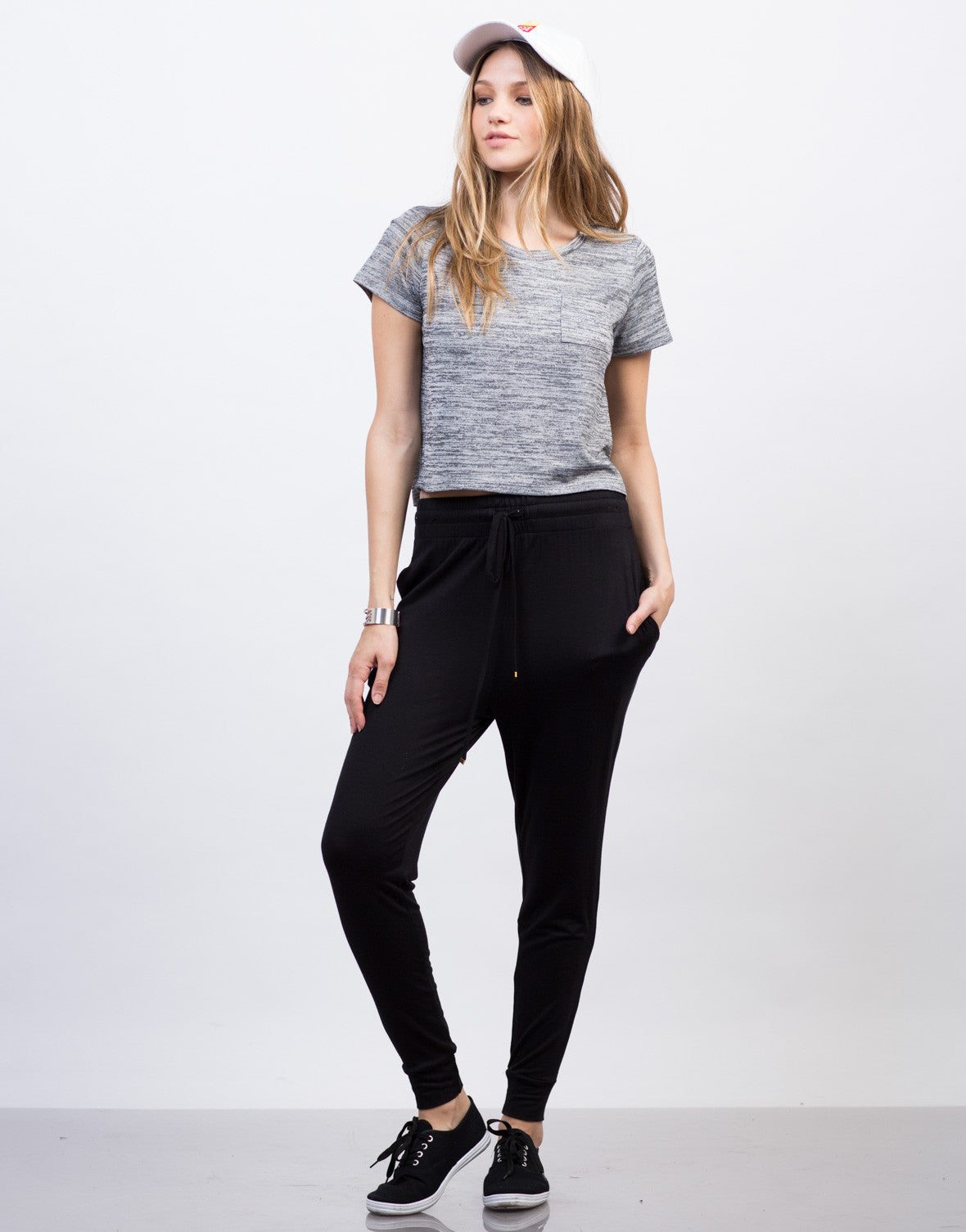 Front View of Super Soft Jogger Pants