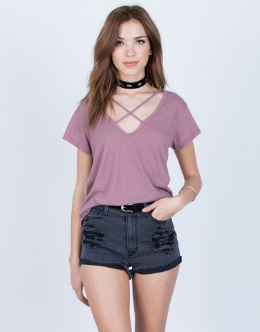 Super Soft Knit Tee - 2020AVE