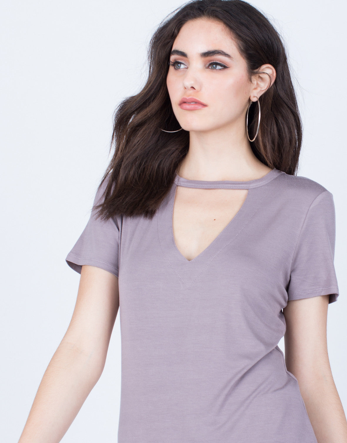Detail of Super Soft Relaxed Tee