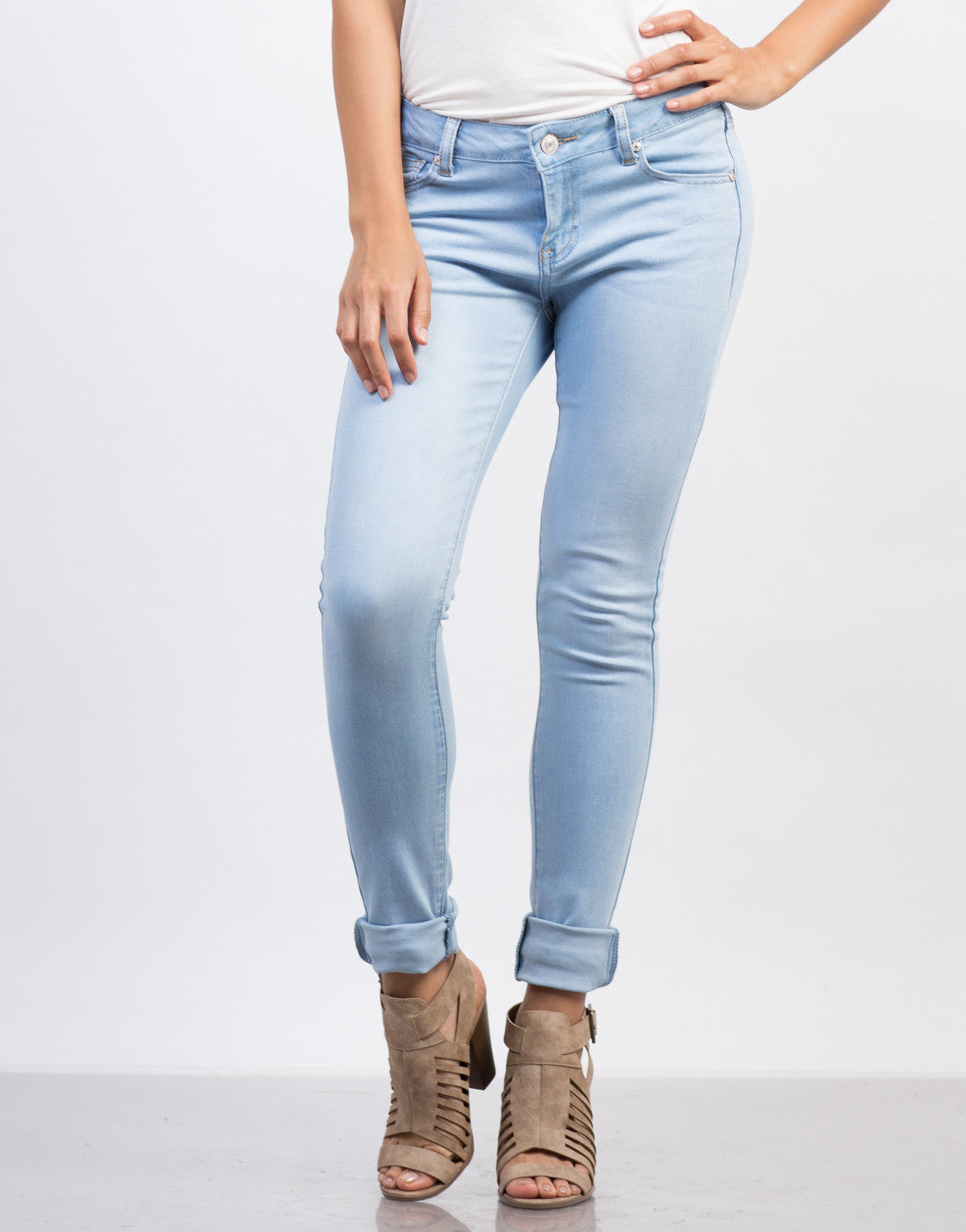 Super Soft Skinny Denim Jeans