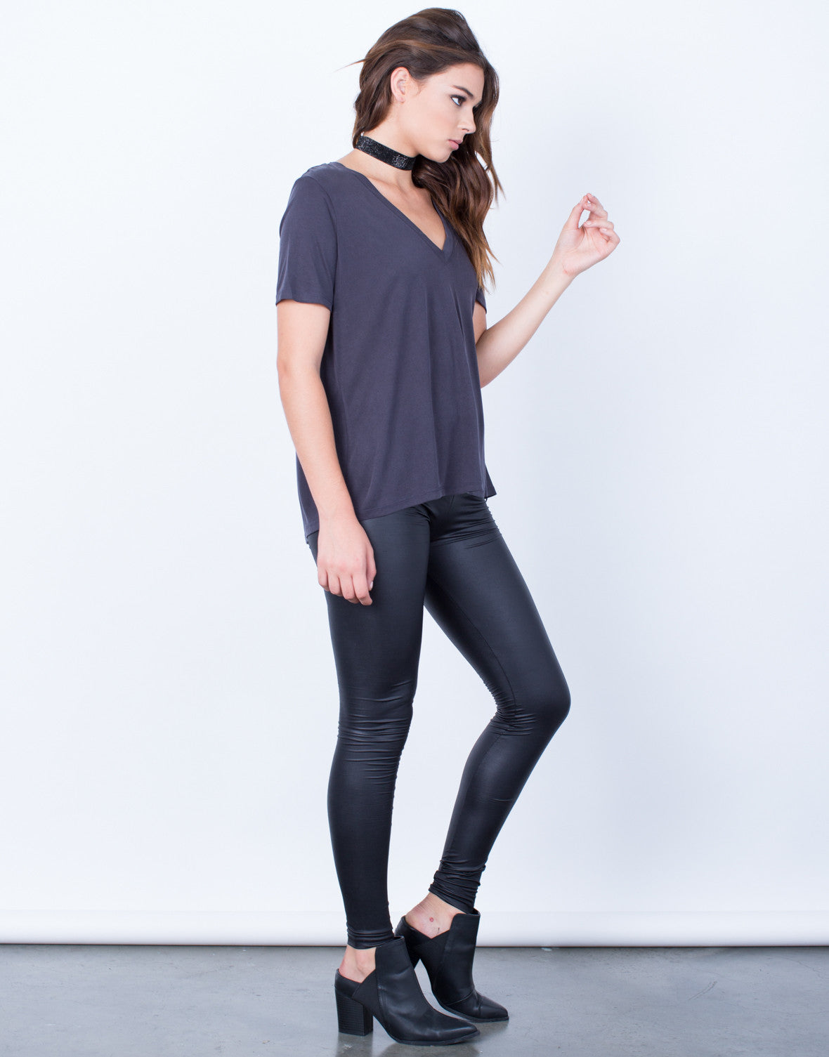 Side View of Super Soft-Tee