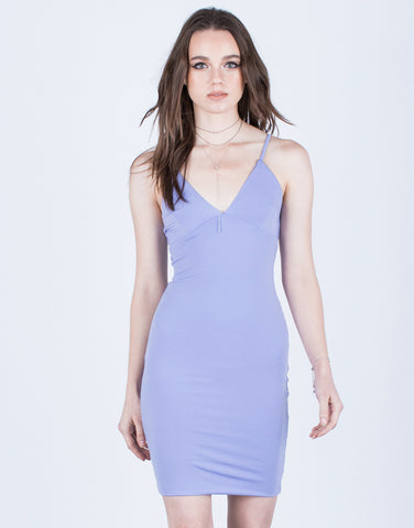 Super Soft V-Neck Dress