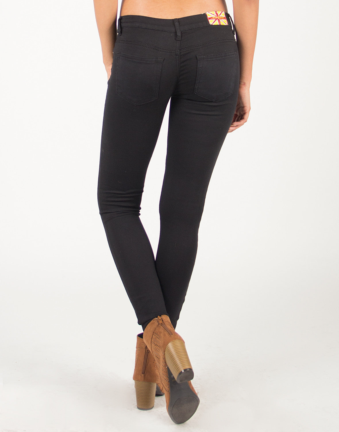 Super Stretchy Classic Black Skinny Jeans