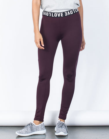 Surrounded by Love Leggings - 2020AVE