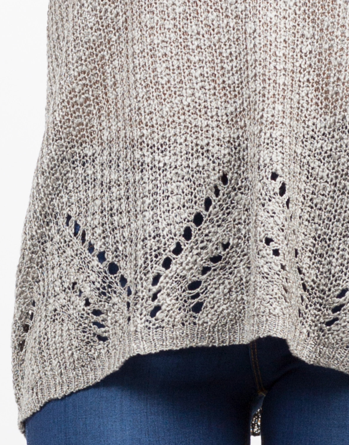 Detail of Sweater Knit Tank