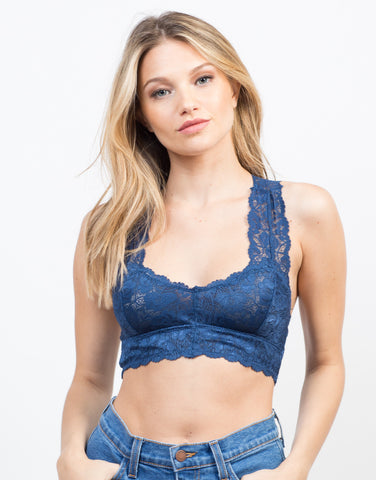 Front View of Sweet Lacey Bralette