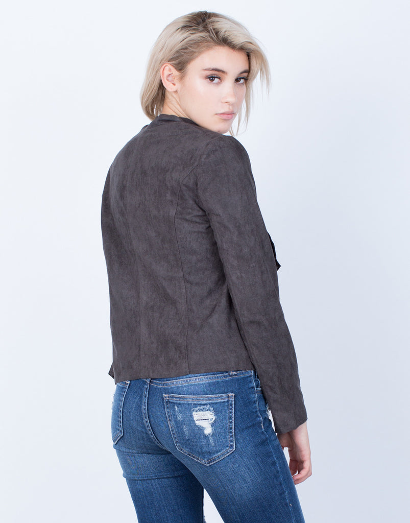 Take Me Out Suede Jacket - 2020AVE