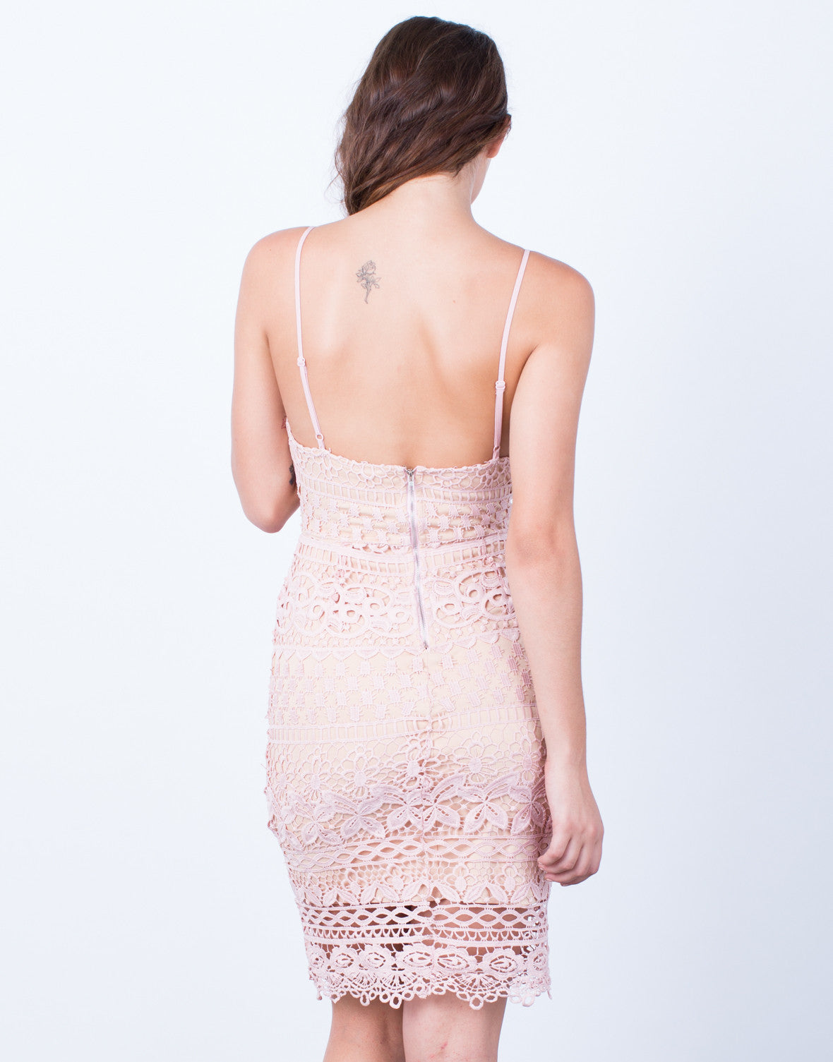 Back View of Take the Night Away Dress