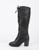 Tall Lace Up Boots