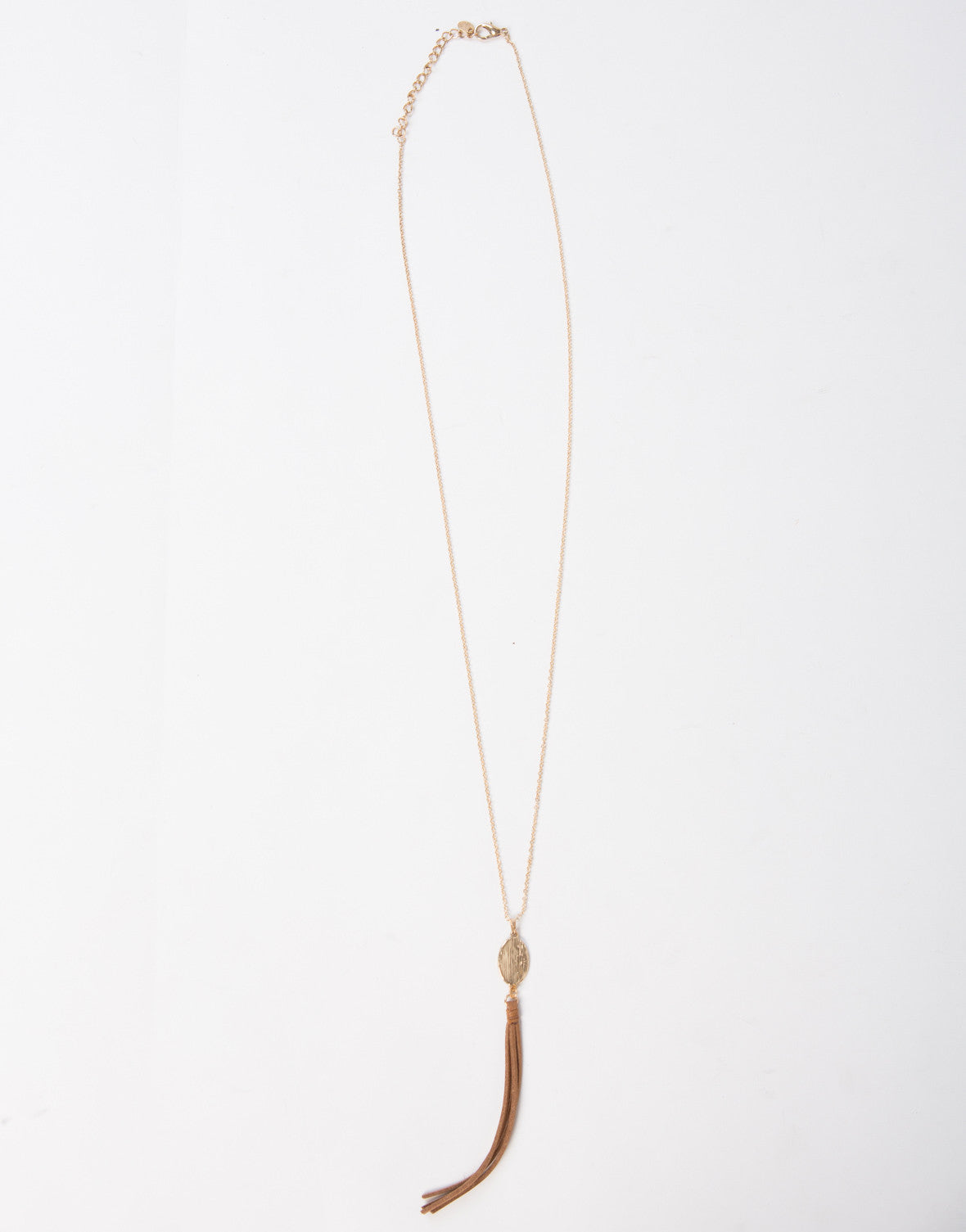 Tassel Long Chained Necklace