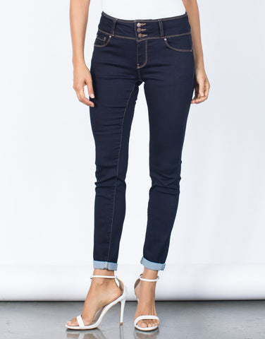Taylor Buttoned Jeans - 2020AVE