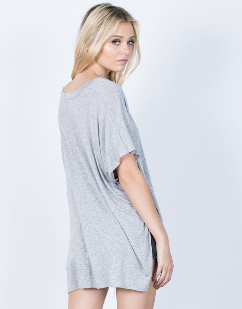 Back View of The Ashley Tee