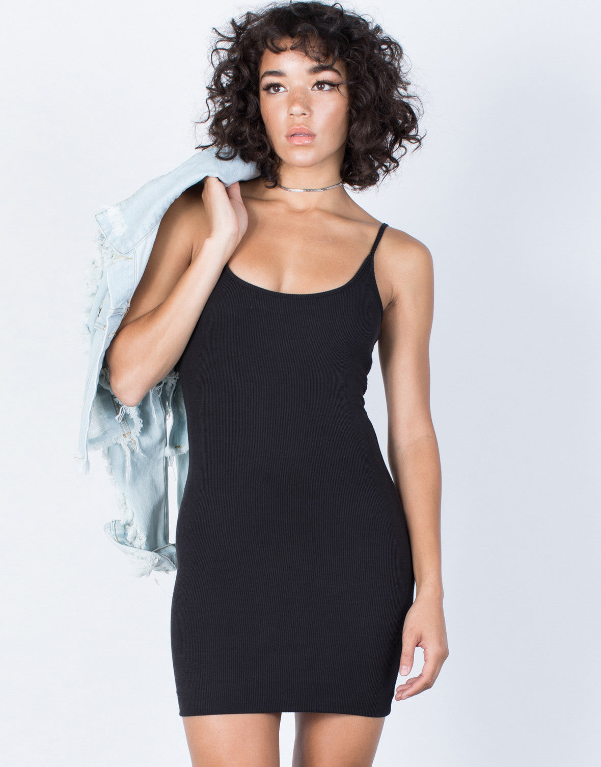 Black The Classic LBD - Front View
