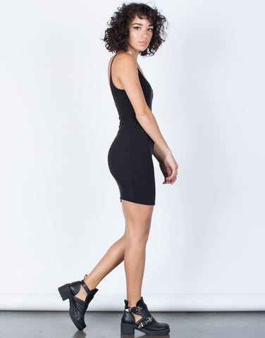 Black The Classic LBD - Side View
