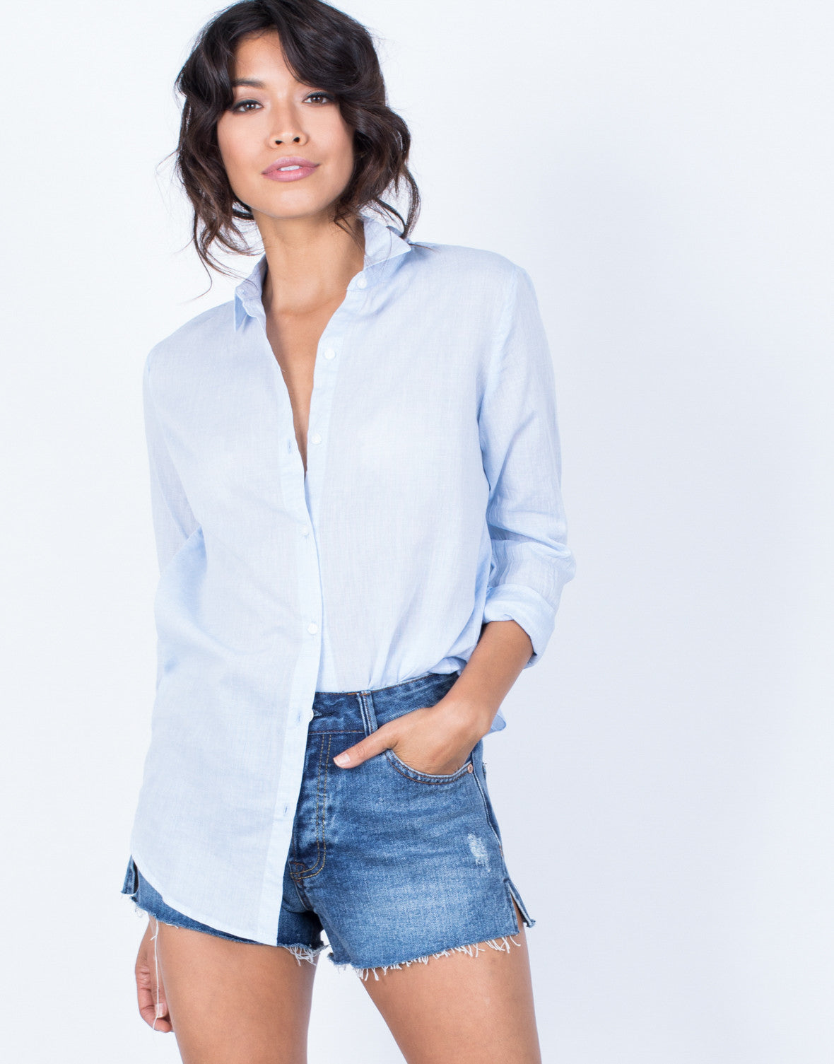 The Classic Woven Blouse - 2020AVE