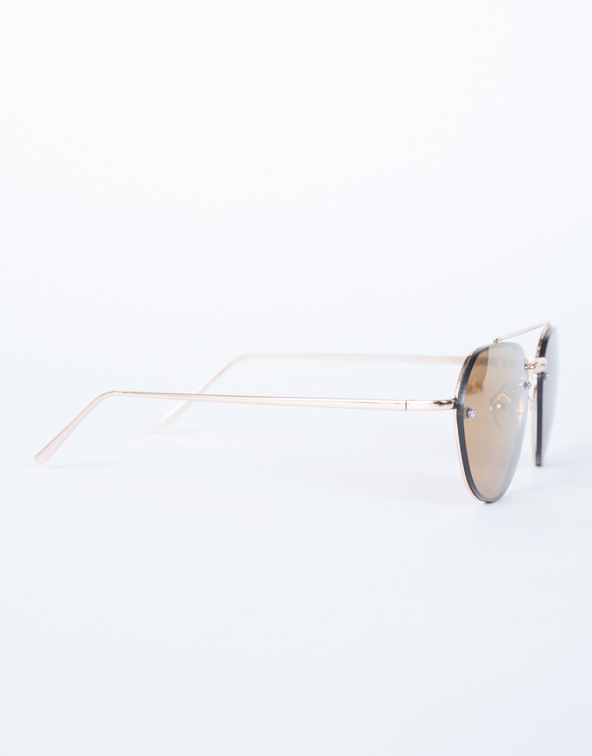 Brown The Cleo Sunnies - Side View