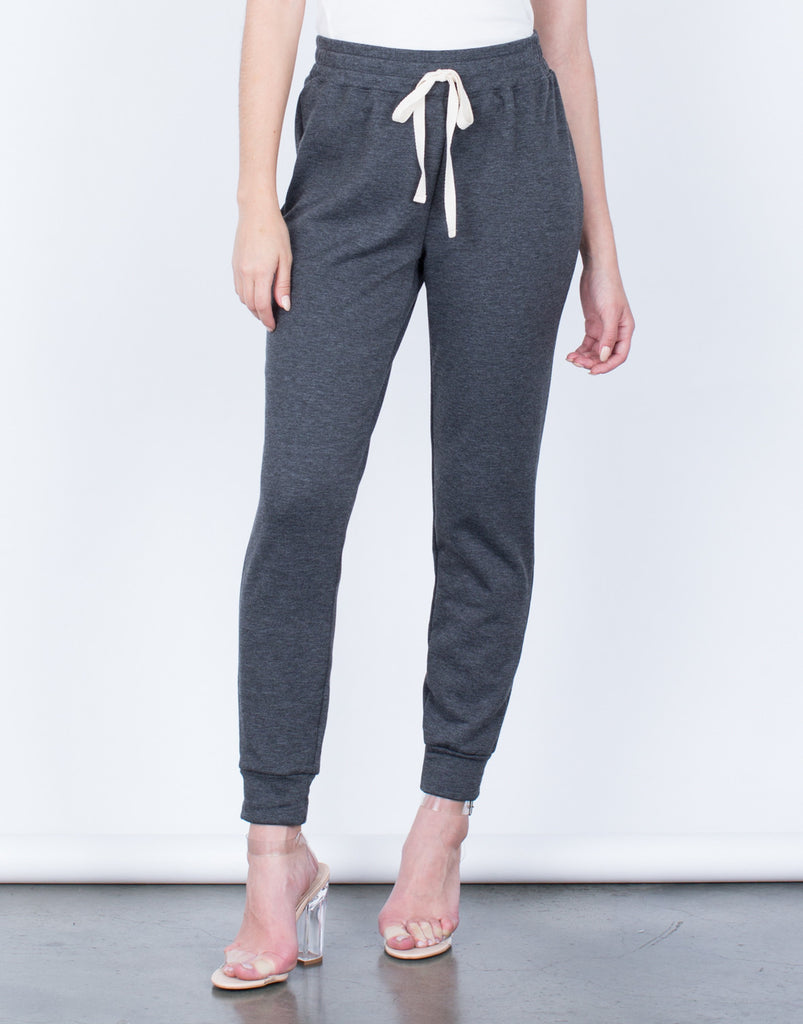 Front View of The Comfy Joggers