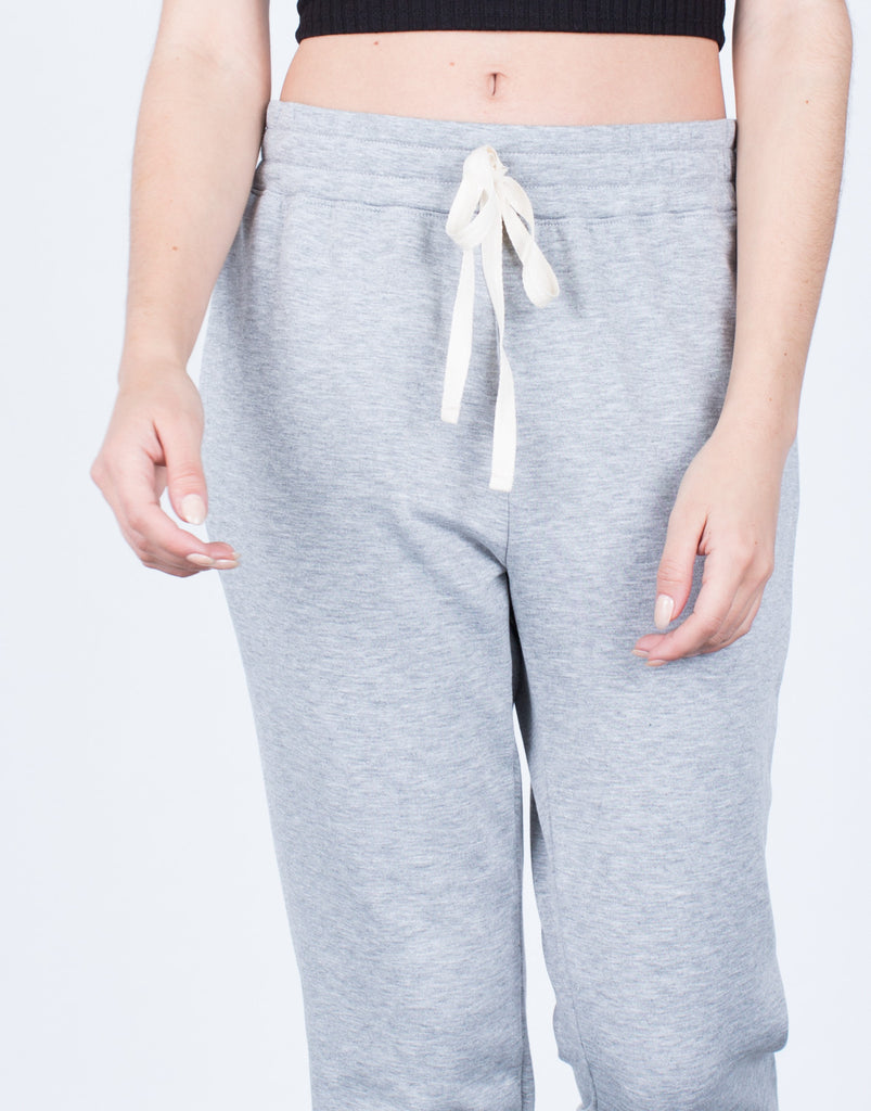 Detail of The Comfy Joggers