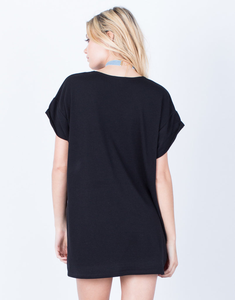 Back View of The Comfy Tunic