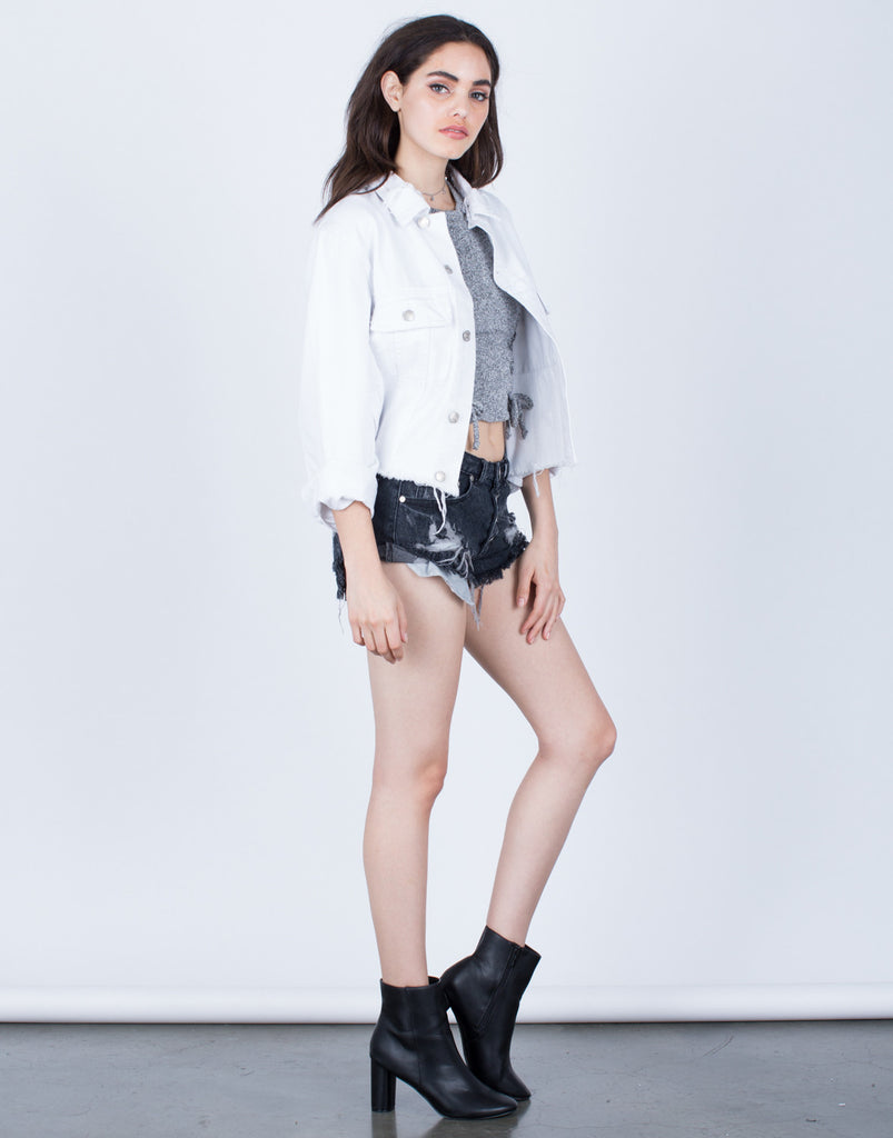 The Cropped Denim Jacket - 2020AVE