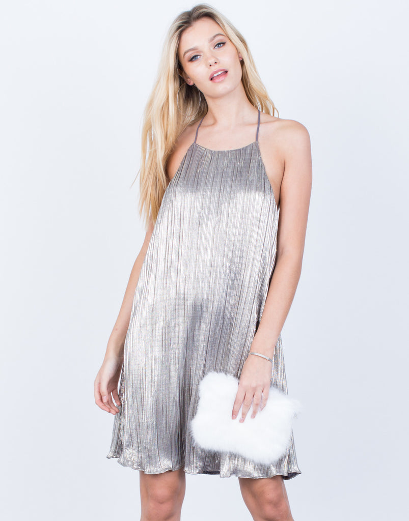 The Metallic Party Dress - 2020AVE