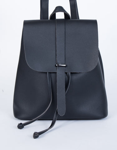 Black The Minimal Backpack